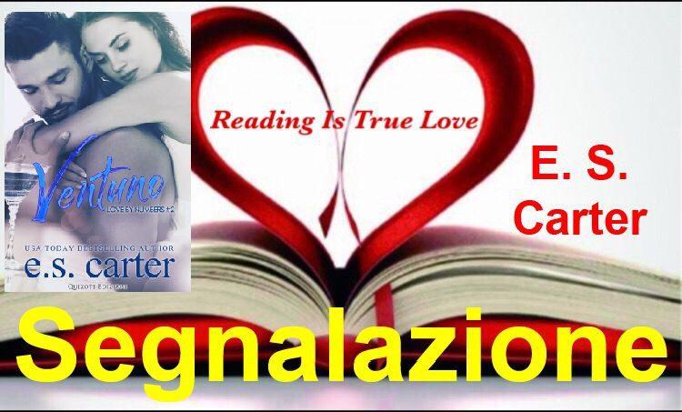 """Segnalazione """"Ventuno"""" di E. S. Carter"""