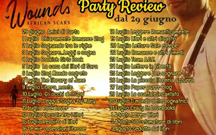 "Review party ""Wounds – African Scars"" di Catherine BC e Emma Altieri"