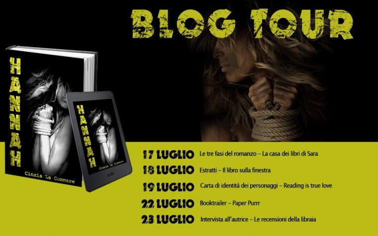 """Blog Tour """"Hannah"""" di Cinzia La Commare 3ª tappa: carta d'identità dei personaggi"""